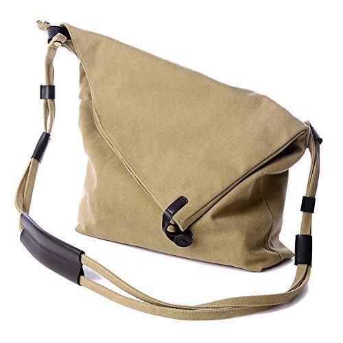 BYD - Donna Female School Bag Borse Tote Bag Travel Bag secchiello Bag Canvas Bag Borse a mano Borse a spalla Shopping Bag with Multi Strap and Fashion Design