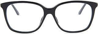 Montaigne55 Black/Clear Lens Eyeglasses