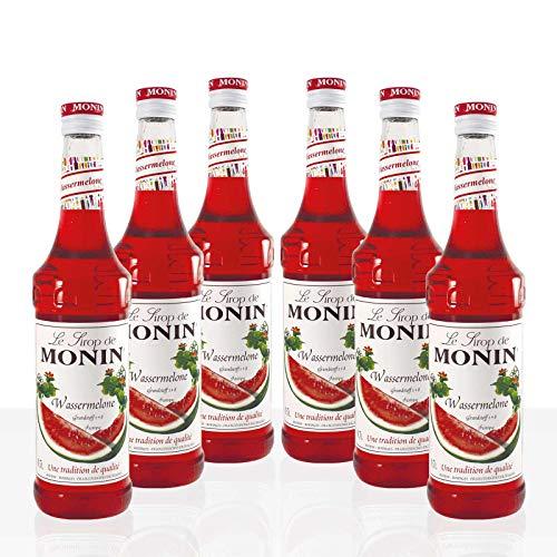 Monin Sirup Wassermelone, 0,7L 6er Pack