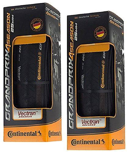 Continental Grand Prix 4-Season 700x25 Black Limited Edition Folding Clincher Tire by Continental