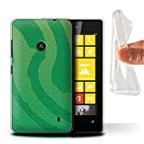 Phone Case for Nokia Lumia 520 Reptile Skin Effect Pit