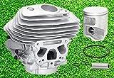 Juego de cilindros de pistón de 46 mm para motosierra Husqvarna 555, 556, 560, 560XP, 562, 562XP, 562XPG, 575355805, 575355802, 575355806, 575355801, 575805805801 03 by BEBE. ST4FORST.