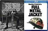 War Collection Stanley Kubrick Style 2-Movie Set - Dr. Strangelove or: How I Learned to Stop Worrying and Love the Bomb (Steelbook) & Full Metal Jacket Blu-ray Bundle