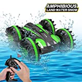 Joyfun Toys for 5-10 Year Old Boys Amphibious RC Car for Kids 2.4 GHz Remote Control Boat Waterproof...