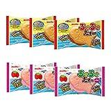 Pukupuku-Tai 0.6oz 2Typesx3packs japanese aerated chocolate meito Ninjapo