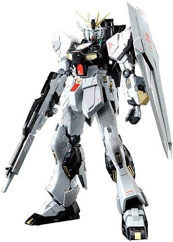 Bandai Hobby MG Nu Gundam Version KA Titanium Finish Action Figur