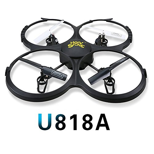 Holy Stone U818A Drone with 720P HD Camera 2.4 GHz 6-Axis gyro RC Quadcopter for Kids with Headless...