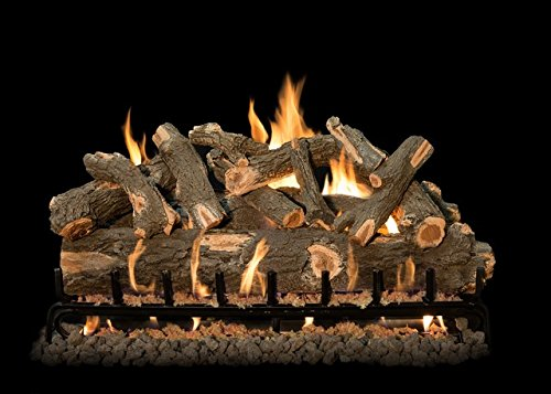 Save %23 Now! Grand Canyon Gas Logs AWOST42LOGS-3BRN-ST42 Arizona Weathered Oak Logs with 3 Burner S...