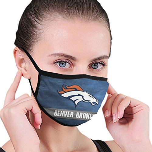 Mundschutz Face Cover Up Denver-Broncoses Face Cover Breathable Anti Dust Reusable Mouth Cover