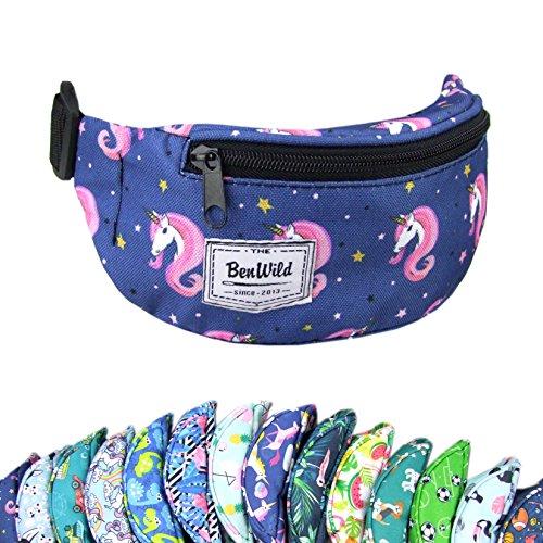Rawstyle Bauchtasche, Hüfttasche für Kinder, vestellbarer Hüftgurt, (Modell 12 XX)