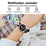 Fashion Shopping Yocuby Smart Watch for Women,Bluetooth Fitness Tracker Compatible