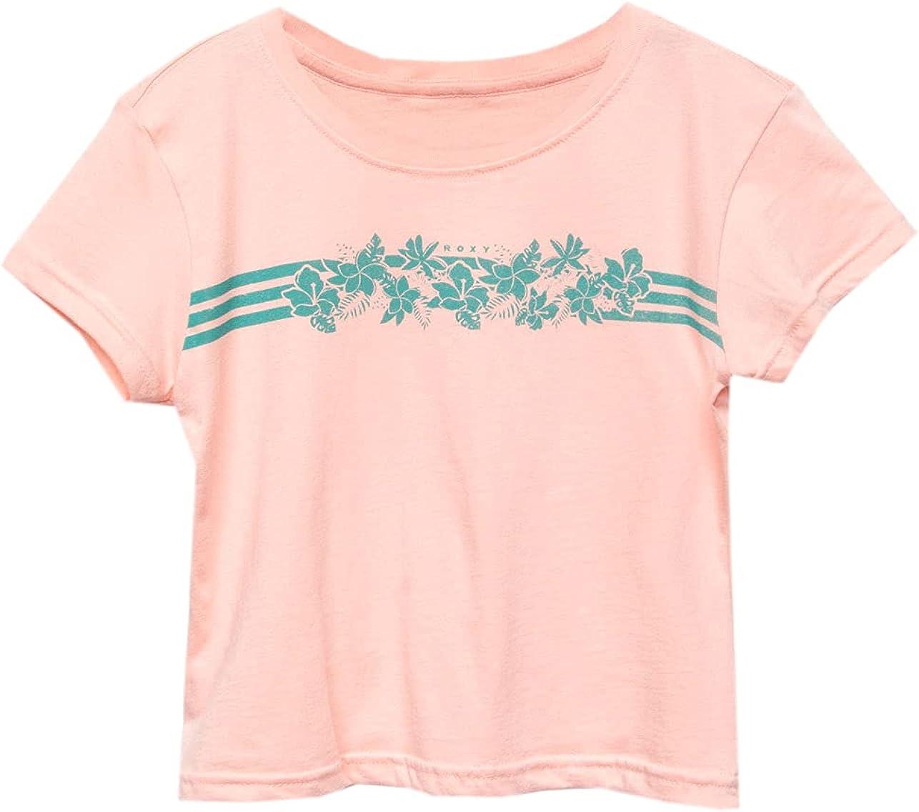 Roxy Tropical Stripe Girls Tee