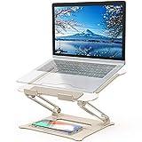 POVO Laptop Ständer Verstellbarer PC Halter Ergonomischer Notebook-Ständer Halterung, Riser für MacBook, Dell, HP, Samsung,...