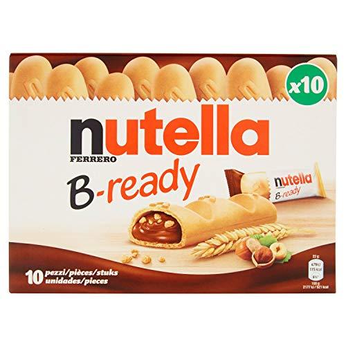 Nutella B-Ready T10 - 10 Pezzi