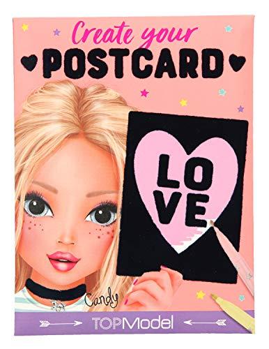 Depesche 10308 Create your Postcard, TopModel velvet
