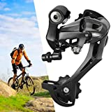 Riloer Desviador Trasero Acera Rear de 7,8,9 Velocidades para Bicicleta MTB, Bicicleta de Montaña, Montaje Directo (Negro)