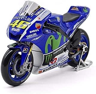 Greensun 1/10 Yamaha YZR-M1 Rossi Moto GP Rossi Motorcycle Bike Model NO.46 Diecast Motorbike Kids Toys Gifts F Children