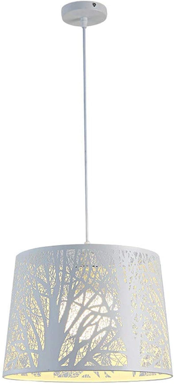 Rohommetique LED Lustres, Nordic Fer Blanc Creux Sculpture Sur Bois Art Décoration Lustre Plafond Lampes Moderne Café étude Table à Manger éclairage Pendentif Lumière