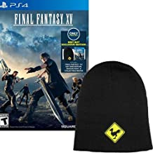 PlayStation Final Fantasy XV with Collectible Beanie and Season Pass for PlayStation 4
