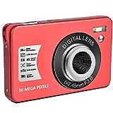 Cámara digital para principiantes, zoom digital de 8 aumentos, HD, cámara de fotos de 21 MP, 1080P HD, cámara compacta de 2,7 pulgadas