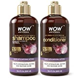 WOW Red Onion Black Seed Oil Shampoo and Conditioner...