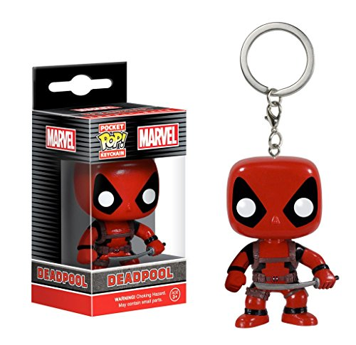Deadpool Marvel Comics - Vinyl Schlüsselanhänger