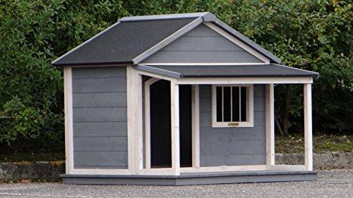Animalhouseshop.de Hundehütte Wooff Large 130x118x108cm - 3