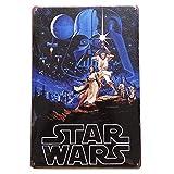 Froy Star Wars Wand Blechschild Retro Eisen Poster Malerei
