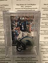 Cam Newton Carolina Panthers Mini Helmet Card Display Collectible Case QB Auto Shadowbox Autograph