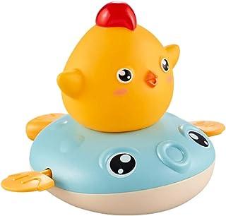 TOYANDONA Baby Bath Toy Floating Wind-up Bathtub Pool Toys Spray Water Squirt Toy Bath Pool Toys  Boys and Girls