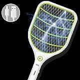 Bug Fly Mosquito eléctrico Zapper 1000mA USB Batería electrónica insectos matamoscas con linterna LED Mata insectos y bichos interior y al aire libre creatov