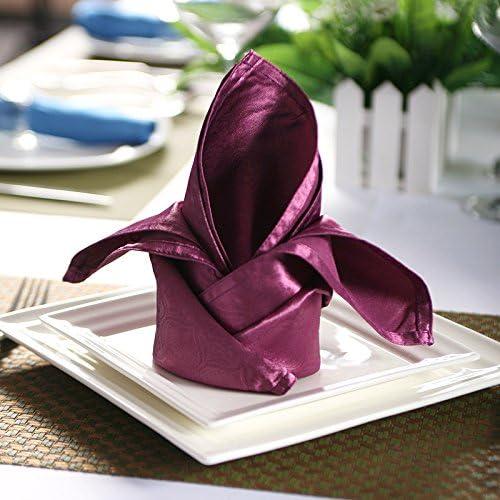 hotel aktivit n   restaurant   pet serviette serviette cazui tuch schlicht   45  45cm   50,lila 50 x 50cm