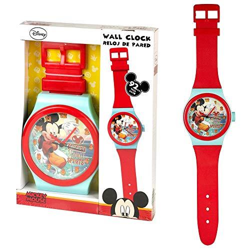 Wanduhr Micky | Kinderzimmer Uhr | 92 cm | Disney Micky Maus