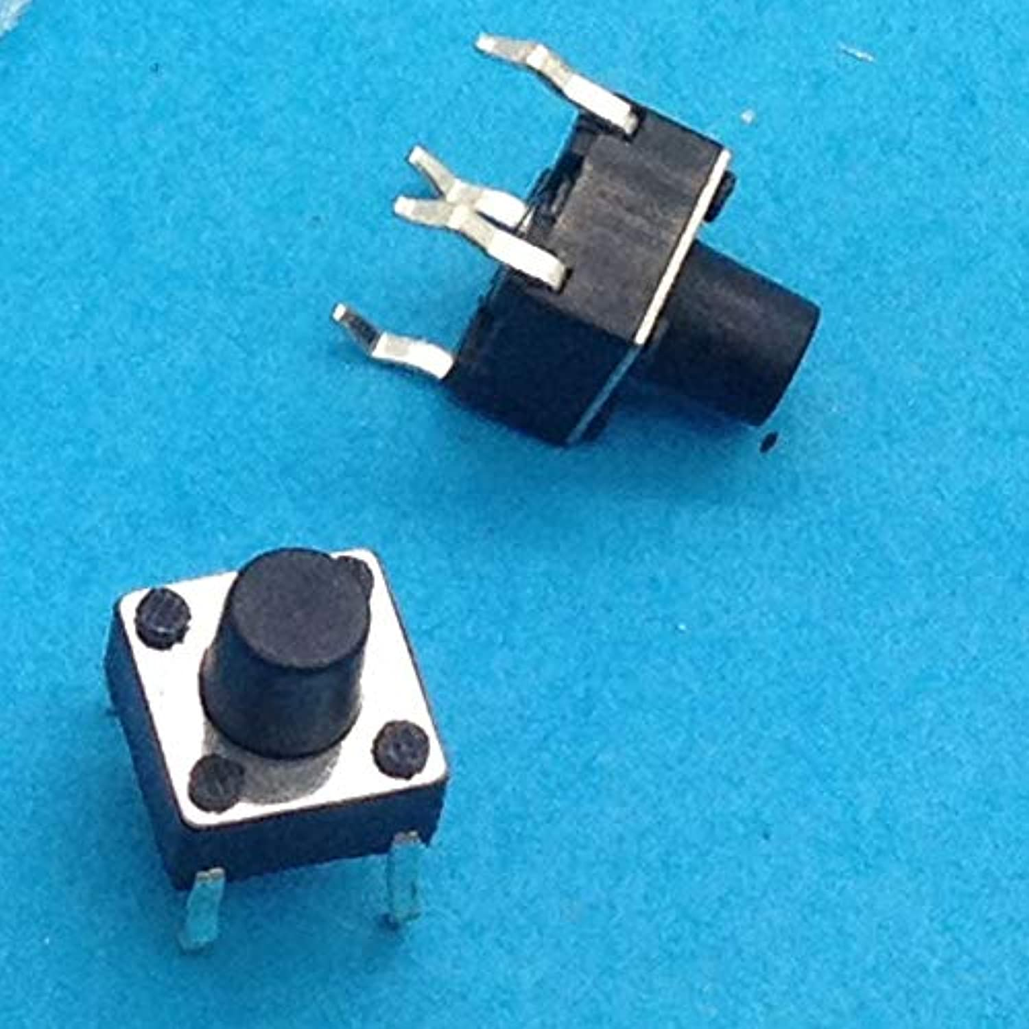 500PCS 6X6X7 DIP Tactile Tact Mini Push Button Switch Micro Switch Momentary 6  6  7mm