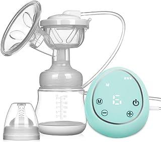 Elektrische Milchpumpe Doppelte Milchpumpe Ein- oder Beitseitiges Abpumpen BPA-frei /Wiederaufladbar Tragbar/Breast Pump Brustpumpe mit Starke Saugkraft