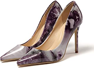 Gold Cloud Women GC4721 Leather Pointed Toe Stiletto Heeled Comfort Pump Shoes