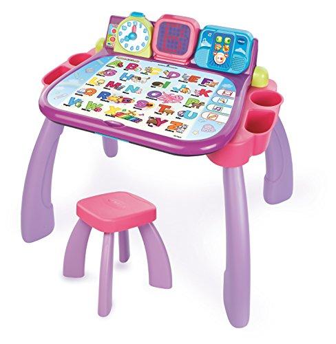 Vtech Magischer Schreibtisch 3 in 1 Kinderschreibtisch, rosa