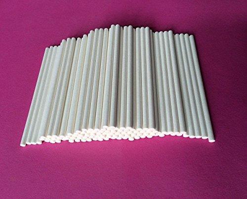 100 CAKE POP STICKS Lollipop Stäbchen Stäbe Kuchen am Stiel 11,5 cm Lutscher TOP Qualität