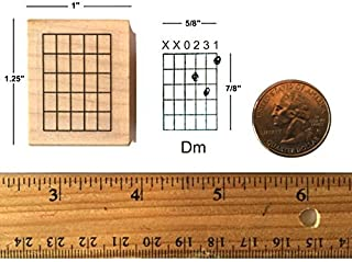 Stampola Guitar Chord Stamp (Medium) - 5 Fret