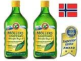 Möller's Omega-3 Lebertran Natur - 2-Pack
