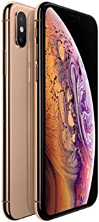 Apple Iphone XS Max With Facetime - 256 GB, 4G LTE, Gold, 4 GB Ram, Single Sim & E-Sim