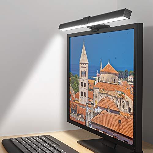 Lámpara de Escritorio LED, Lámpara de Monitor para Ordenador, Lámpara de Lectura,...