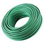 Soft Twist Tie Garden Plant Tie 13 : Green Plant tapes soft TPR, garden twist tie, garden tie for plants. 16 feet long of 5 mm / 0.197 inches width (diameter). : UV Inhibitor included in TPR material, lasts long among your garden supplies. : Supporting tomatoes and roses, this twist tie works well with organizing flowers and vegetations in the garden.