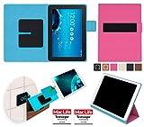 reboon Hülle für Asus Transformer Pad TF303CL Tasche Cover Case Bumper | in Pink | Testsieger