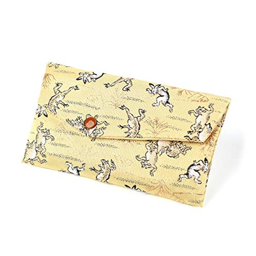 数珠入れ 数珠袋 西陣織 金襴 選べる 男性用 念珠袋 念珠入れ 西陣 日本製 京都 juzuire 角形,鳥獣戯画