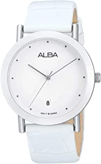 Alba Leather Casual Watch For WoMen , AG8381X