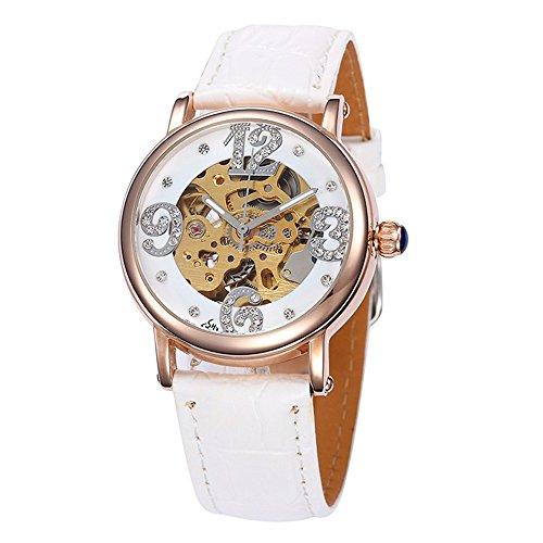 SJXIN Orologio meccanico di alta qualità, Shenhua / 9352Z orologio meccanico automatico da donna (Color : 4)