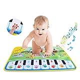 Hztyyier Kinder Musik Teppich Matte, Baby Musik Mat Kinder Krabbeln Klavier Teppich Pädagogische Musical Spielzeug Kinder Geschenk