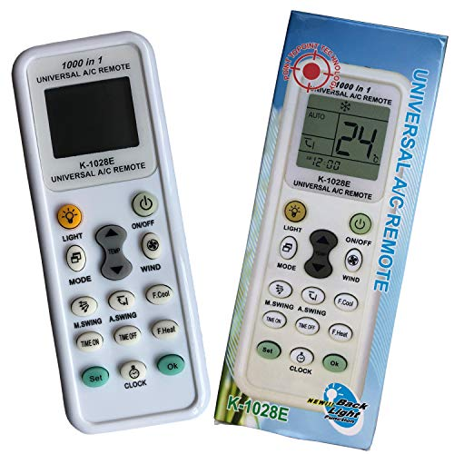 iLovely K-1028E Telecomando Universale per Condizionatori Climatizzatori Compatibile con la Maggior Parte dei