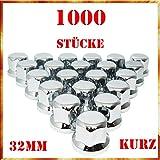 Tapacubos Easy Link 1000 x 32 mm, tapacubos de plástico cromado SW32 para camiones
